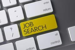 Job Search Keypad Abbildung 3D Stockfoto