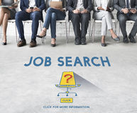 Job Search Occupation Recruitment We're Hiring Concept Royalty Free Stock Image