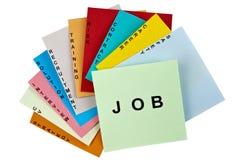 Job search plan Royalty Free Stock Photography