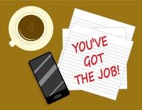 Job Search Success Imagen de archivo