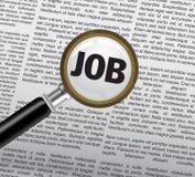 Job searching Stock Photography
