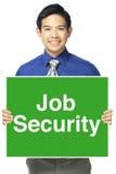Job Security Imágenes de archivo libres de regalías