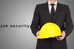 Job security Royalty Free Stock Photo