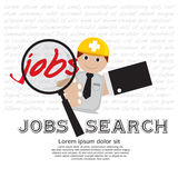 Job Seeker. Royalty Free Stock Photography
