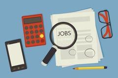 Job seeking Royalty Free Stock Photo