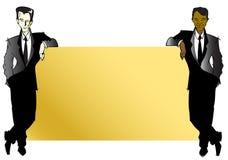 JOB-SERIE - Geschäftsmänner Lizenzfreies Stockfoto