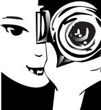 JOB-SERIEN-Fotograf Stockfoto