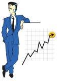 JOB-SERIEN-Geschäftsmann   Stockfoto