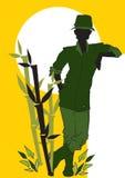 diversity-African-Farmer,Agriculturist, Cartoon Royalty Free Stock Photos