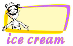 JOB SERIES ice cream Stock Photos