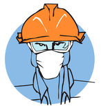 JOB SERIES Worker  Stock Image