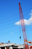 Job site. On the construction job site Stock Photography