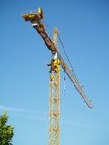 Job site crane Stock Photography