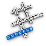 Job strategy crossword Royalty Free Stock Photo