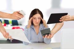Job Stress fotografia stock