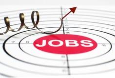 Job target Royalty Free Stock Photo