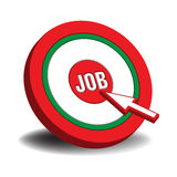 Job target Stock Photography