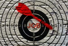 Job target Stock Images