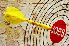 Job target Royalty Free Stock Image