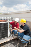 Job Training - AC Tech Stock Images