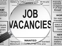 Job Vacancies Fotografía de archivo