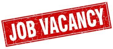 Job vacancy square stamp Stock Photo