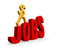 Job-Wachstum Lizenzfreie Stockbilder