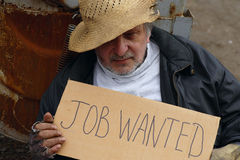 Job wanted Stock Images