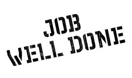 Job Well Done rubber stamp Royalty Free Stock Image
