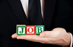 Job word Royalty Free Stock Photo