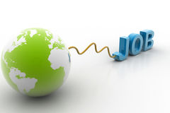 Job and world Stock Images