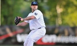 Joba Chamberlain - pichet de Yankees de New York Image libre de droits