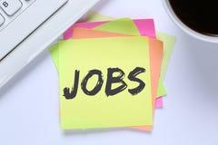 Jobb för rekryteringanställda för jobb funktionsdugligt kontor royaltyfri bild