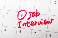 Jobbintervju Fotografering för Bildbyråer