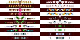 Jobbkort - ögon royaltyfri illustrationer
