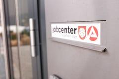 Jobcenter skrzynka pocztowa Obrazy Stock