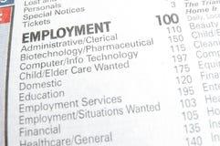 Jobkapitel Lizenzfreies Stockbild