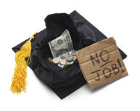 Jobless College Graduate Stock Photos