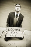 Jobless man Royalty Free Stock Photography