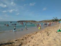 Jobos海滩伊莎贝拉岛波多黎各 库存照片