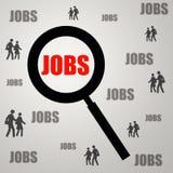Jobrecherche Lizenzfreie Stockfotos