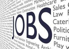 Jobs stock abbildung