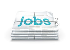 Jobs. Computer illustration on a white background Royalty Free Stock Photography