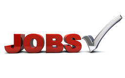 jobs illustration stock