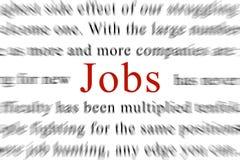 Jobs Stock Photography