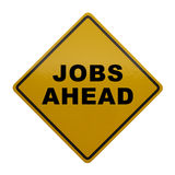 Jobs Ahead Stock Images