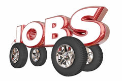 Jobs Automotive Career Engineer Automobile Industry Royalty Free Stock Image