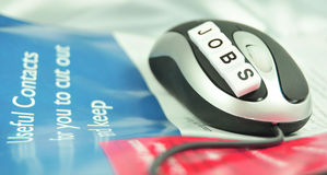 Jobs banner Stock Photography