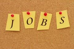 Jobs board Stock Image