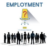 Jobs Career Hiring Employment Hiring Concept Royalty Free Stock Photo